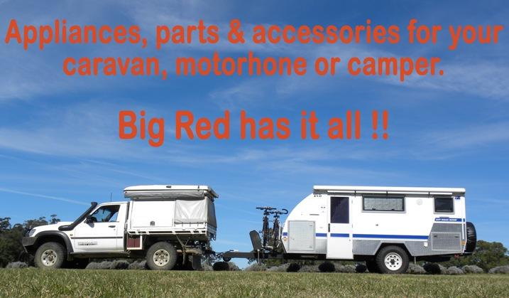 Big Red Caravan Parts | DIY Motorhome RV repair accessory component